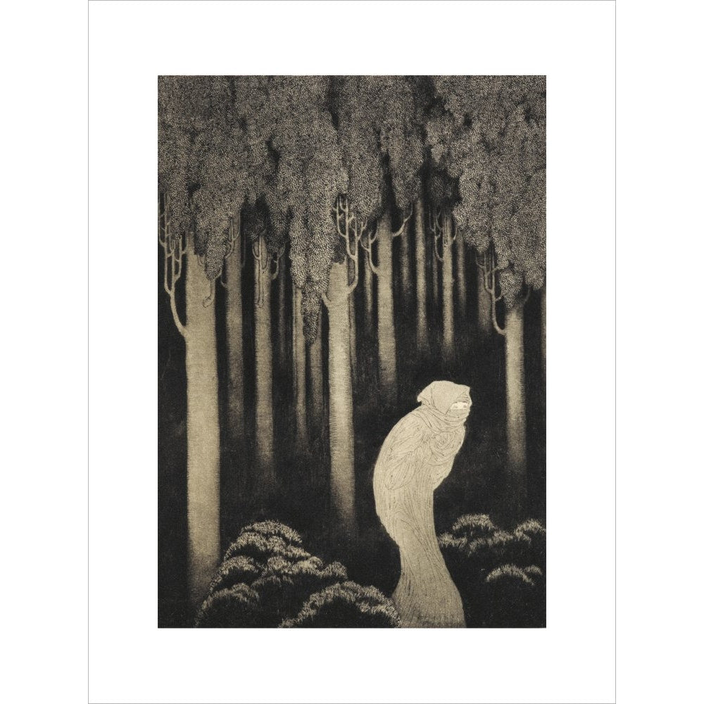 'Hish' from The Gods of Pegana print unframed