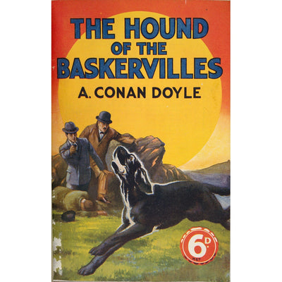 Hound of the Baskervilles book cover print