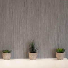 Abstract Brushed Grey Wall Panel