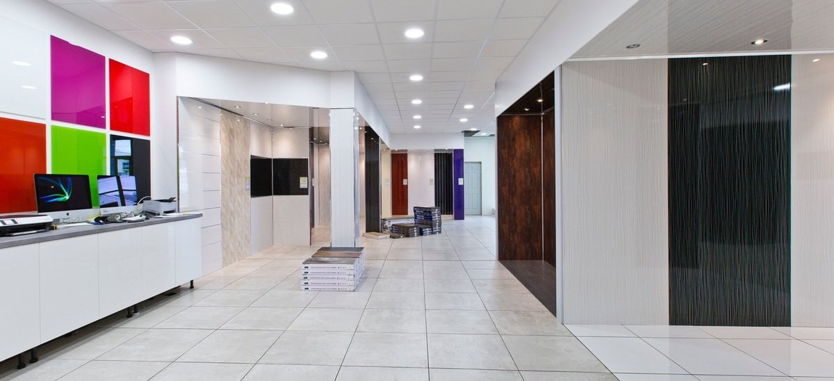 Showrooms - Wet Walls & Ceilings