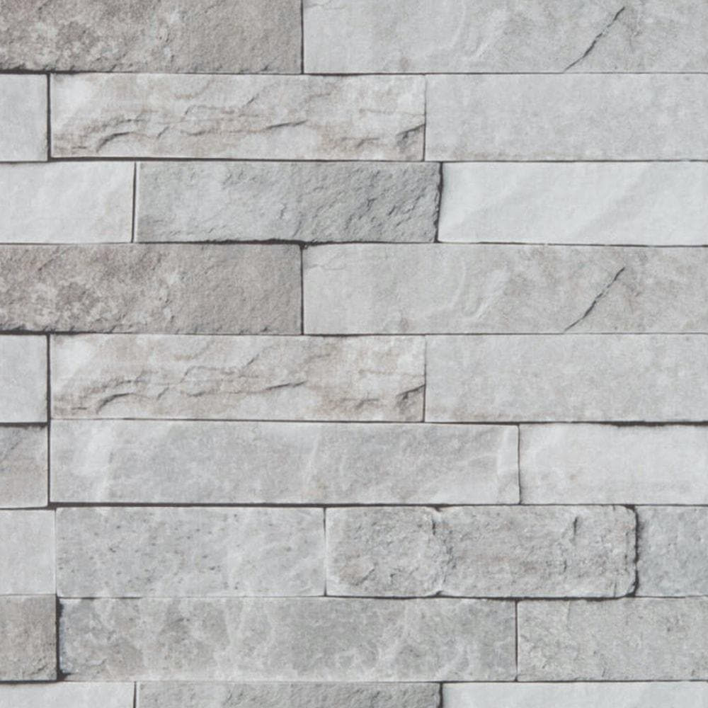 Grey Brick Effect Wall Panel 40cm X 270cm Wet Walls Ceilings