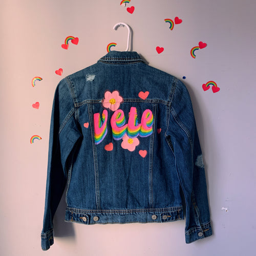 la vete denim jacket