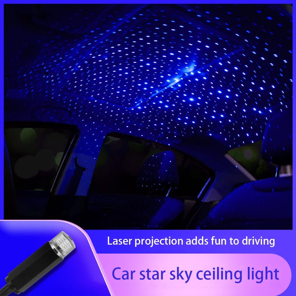 JDM Roof LED Interior Ceiling Galaxy Projection