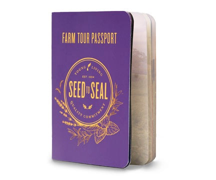 Young Living Farm Tour Passport