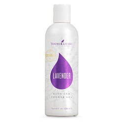 Young Living Lavender Bath & Shower Gel - 8oz