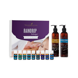 Young Living Raindrop Technique Essential Oil Collection
