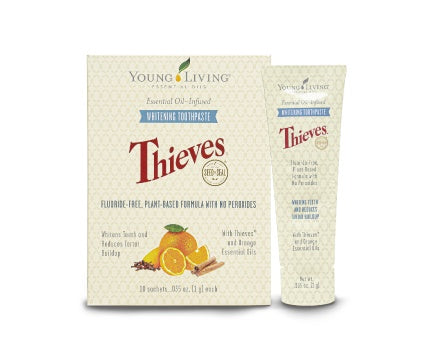 Young Living Thieves Whitening Toothpaste Sample Sachets