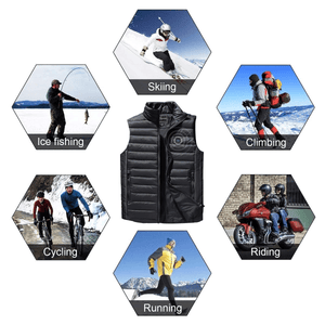 (50% OFF)2020 Unisex Warming Heated Vest-Free Shipping