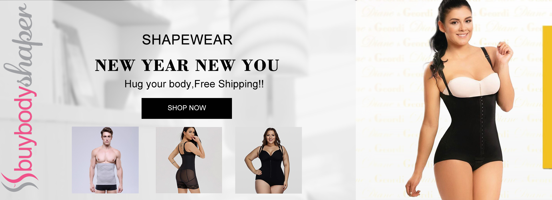This New Year Evening Party look more Sexy with Body Shaper