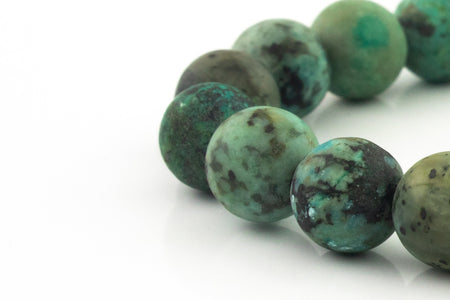 Silver Classic | Matte African Turquoise | 8mm