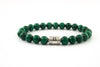Silver Classic | Malachite | 8mm
