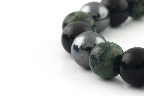 Silver Classic | Dark Juniper Blend | 8mm