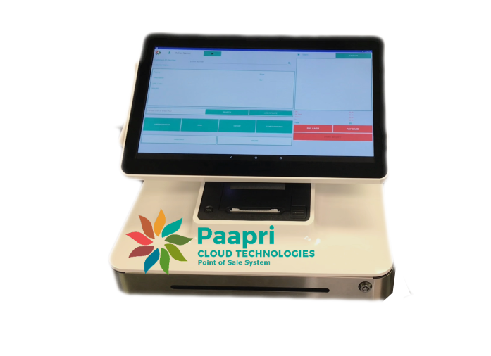 Paapri Point of Sale System.