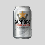 Sapporo Can (330ml x 24 cans) Alcohol Delivery Singapore Cheap Sapporo Beer Singapore