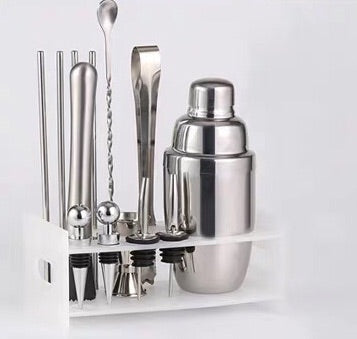 Classic Cocktail Shaker 9 pieces set