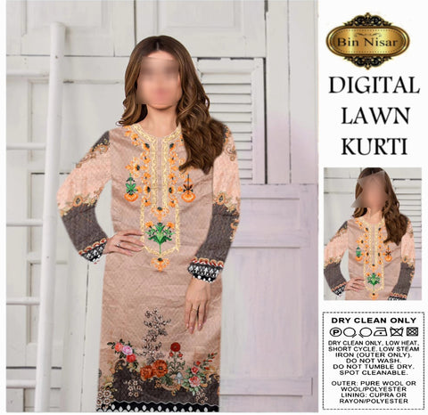 Digital with Embroidered Shirt just in 650