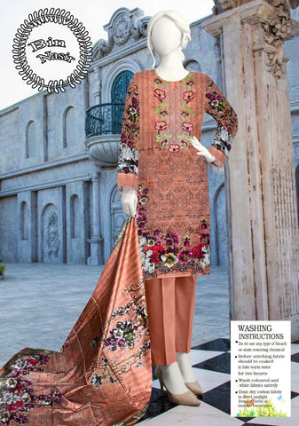 DIGITAL EMBROIDERED LINEN JUST IN 1320/SUIT