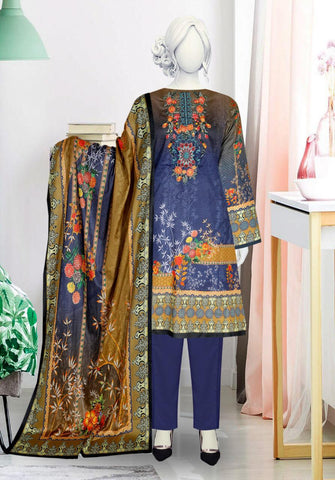 3pc Lawn With Embroidered Shirt just in 1500