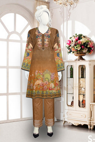 2pc Alkaram Masoori with Jacquard just in 1400