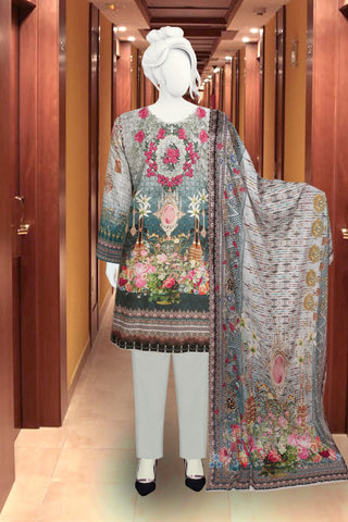 3pc KOTAIL with VOIL Dupatta just in 1750