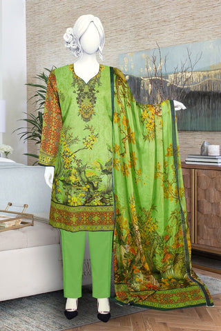 Masoori Lawn with Bamber dupatta just in 1600