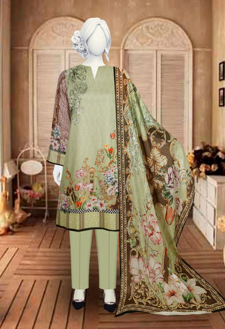 3pc KOTAIL with Voil Dupatta just in 1500