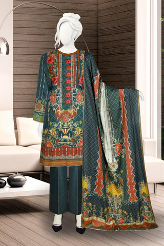 3PC Masoori Lawn just in 1700