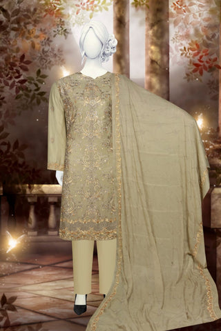 PARTY WEAR HEAVY EMBROIDERED JUST IN 2200