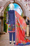 3pc Swick Lawn with Bamber dupatta just in 1400