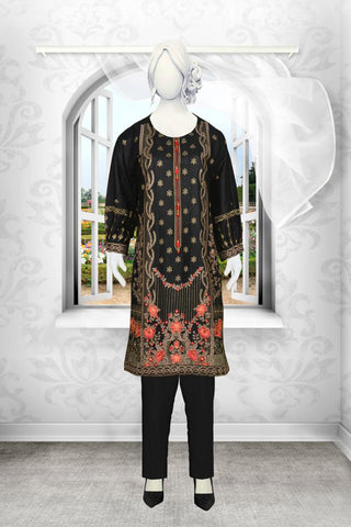 LAWN Embroidered with Stitched Shirt just in 1200