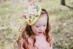 Eleanor Spring Hat| Fascinator|Garden Party|Derby Hat