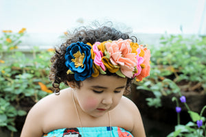 Cristina  Crown Inspired |Felt Floral Crowns