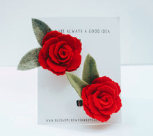 Load image into Gallery viewer, Red Petite Rose
