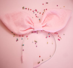Pale Pink Shapeable Bow