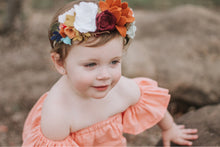 Load image into Gallery viewer, Woodland Creatures collection|feltflowers|feltheadbands|birthday|woodlandbirthday|hairaccesories|flowerheadband|spring