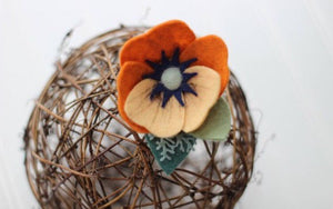 Fall-ing in Love Collection/felt/flower crowns/felt flowers/photoprops/newborn/fall/autumn/birthdays