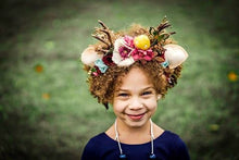 Load image into Gallery viewer, Fairy Garden collection/felt/fairy/magical/flowers/decor/cosplay/felt flowers/felt crowns