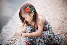 Load image into Gallery viewer, Fall singles/feltflower/felt floral /felt accesories/newborn/photoprops/newbornphotpgraphy/birthday/hair floral