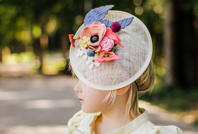Mary Poppins Inspired Fascinators