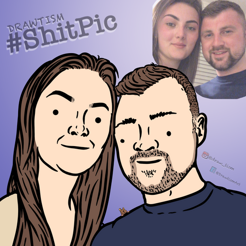 #ShitPic Portrait (digital)