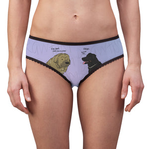 'Dog world problems' Women's Briefs