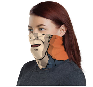 'Pumpkin Guy' Neck Gaiter mask