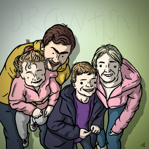 Drawtism Family Portrait (digital)