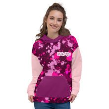 Load image into Gallery viewer, Drawtism 'WMCs' Pink Unisex Hoodie