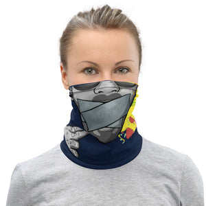 Drawtism 'boom' Logo; Face cover/Neck Gaiter