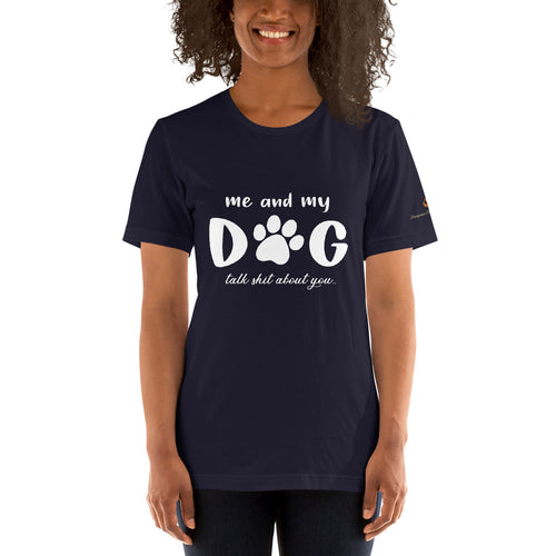 Me & my dog.. (dark) Unisex T-Shirt