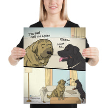 Load image into Gallery viewer, 'Dog Problems' Poster