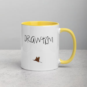 Drawtism 'boom' Colour Mug
