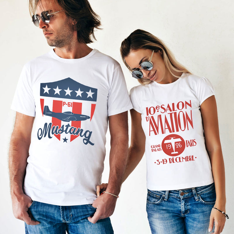 Aviation t-shirts