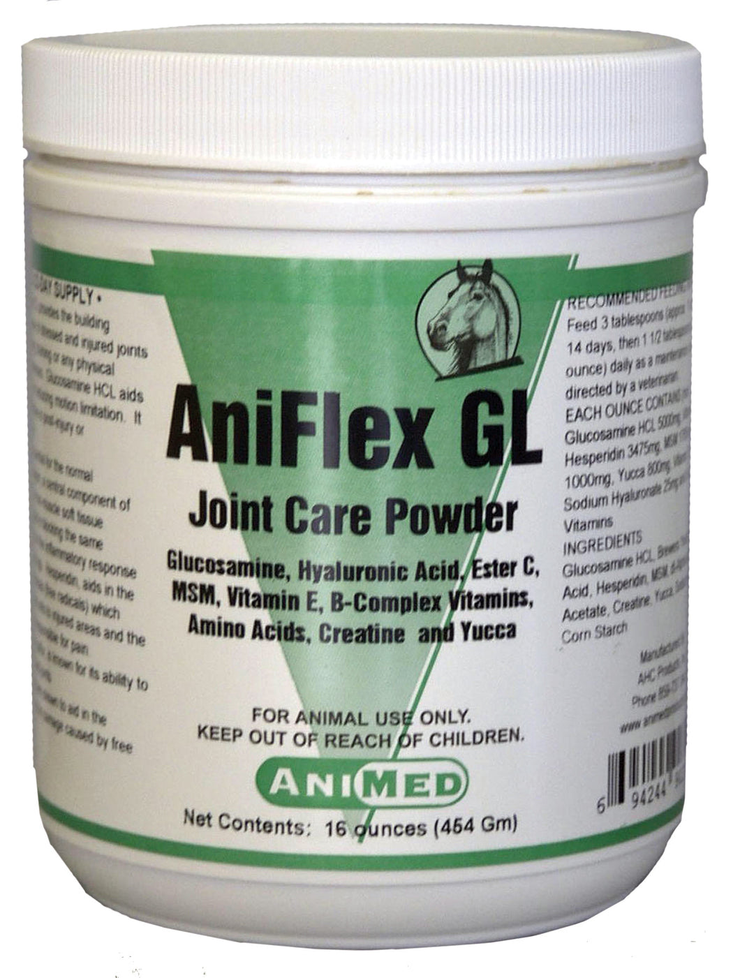 Aniflex Gl Joint Care Powder For Horses